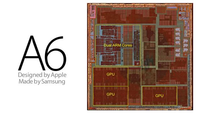 Samsung Chips in Apple smartphones