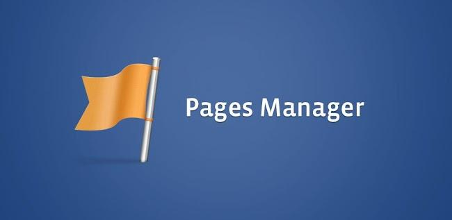Facebook page Page manager Android