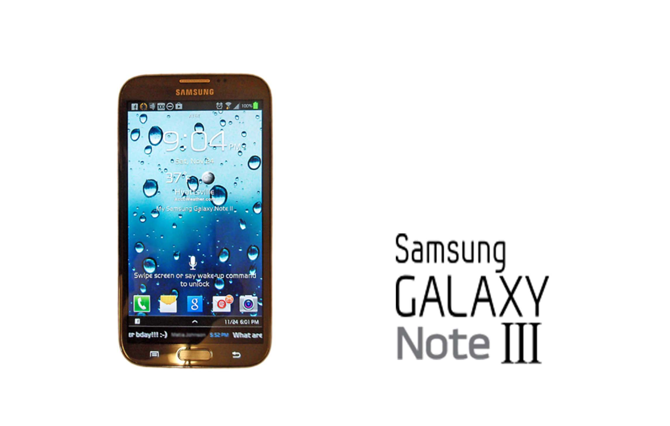 Samsung Glaxay Note III will have an unbreakable display.