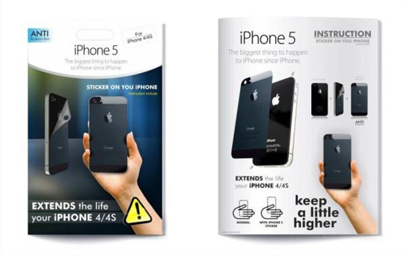 Make your iPhone 4 or 4S look like iPhone 5.