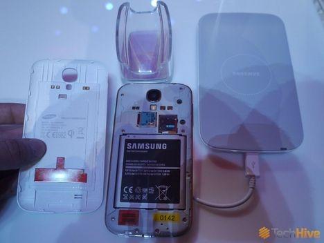 Samsung wirless charging, Galaxy S4 wireless charging, wireless samsung