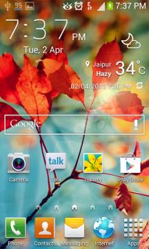 Accuweather widget for galaxy S4 Galaxy S4 Accuweather widget