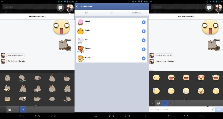 chat stickers, Facebook Messenger sticker, Facebook stickers, Facebook