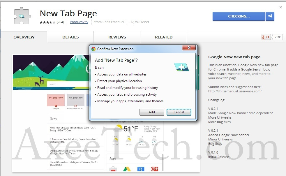 Google_Now_Chrome_tab