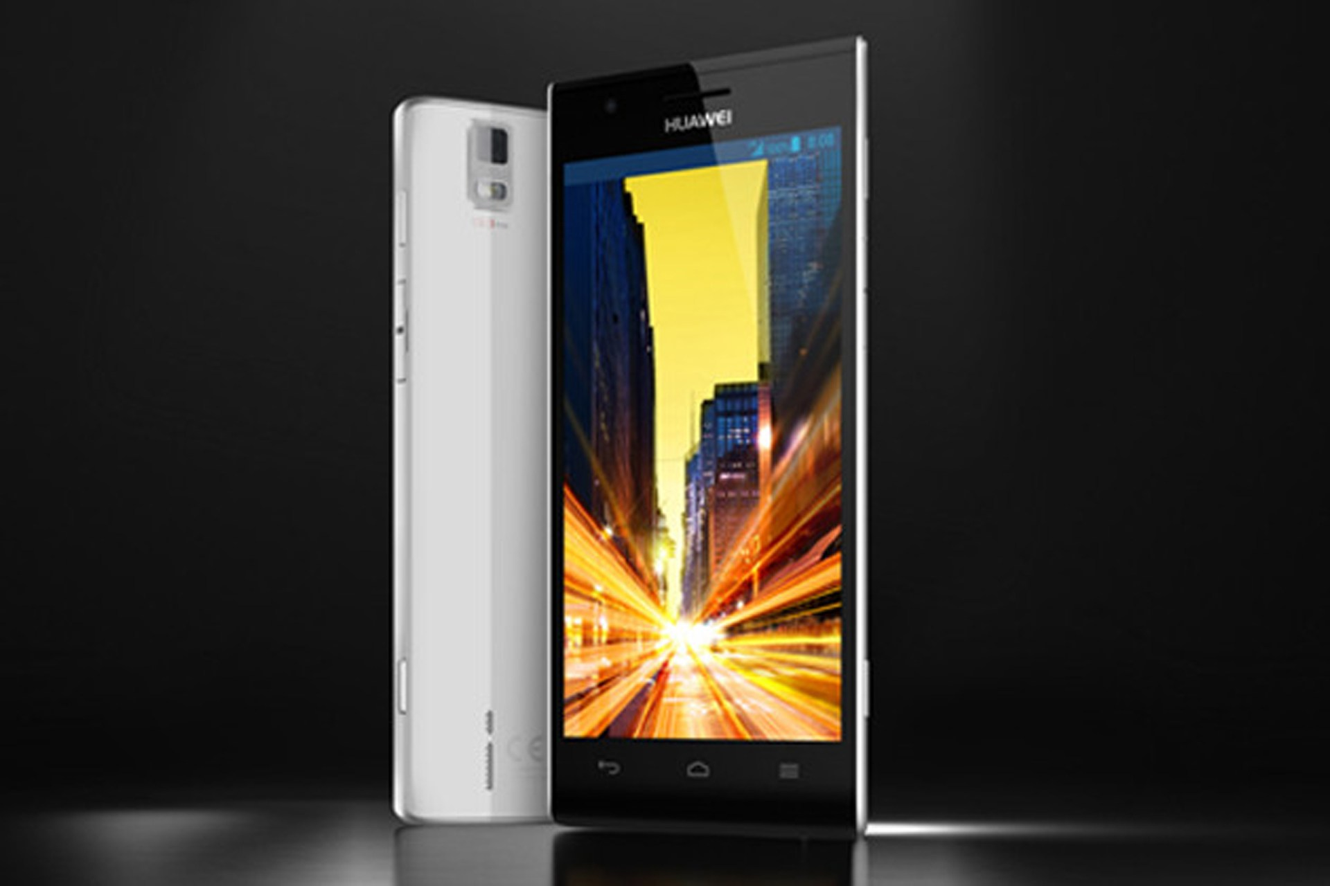 Huawei Ascend P2 specifications and price.