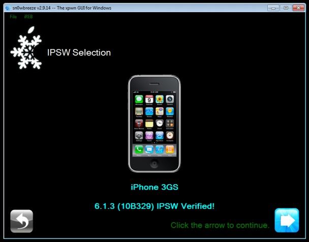 snowbreeze jailbreak iOS 613 3
