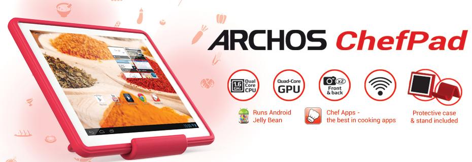 ARCHOS ChefPad de ARCHOS