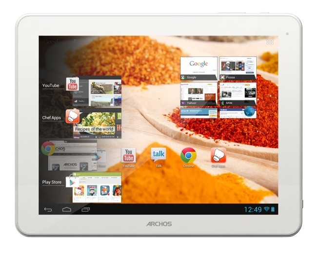 Archos ChefPad, Archos, kitchen tablet, Archos kitchen tablet, Archos Chefpad kitchen, tablet for kitchen, Archos tablet, Archos 10inch, 10-inch tabet for kitchen, Archos kitchen chef pad, chef pad tablet, chef pad kitchen tablet (3)