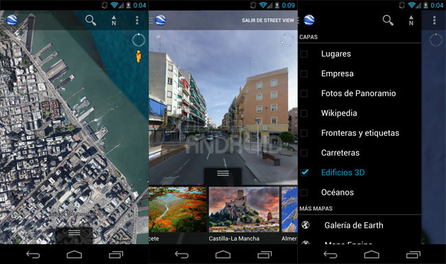 Google earth update, google earth for android, Google earth 7.1.1, Earth 7.1.1, earth map