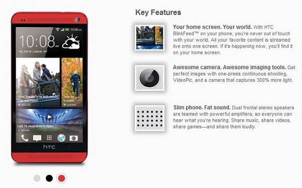 HTC RED, HTC One Red, HTC One color, HTC One Red, HTC Red color, HTC one new color (1)