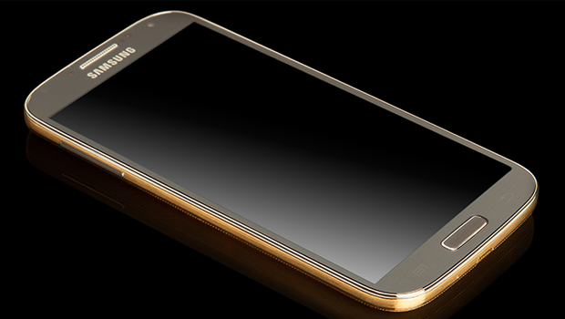 Samsung-Galaxy-S4-GOLD-BLING