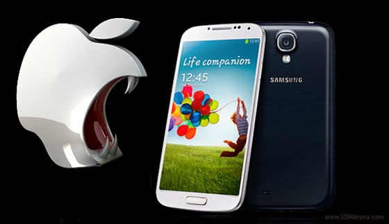 Galaxy S4 Patent, S4 patent. Galaxy S4 lawsuit. Apple vs samsung, Apple lawsuit against galaxy S4