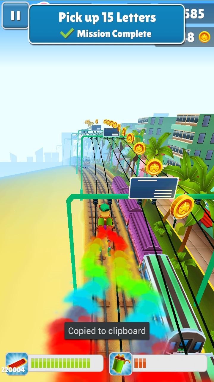 Subway Surf Miami Андроид
