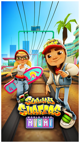Subway Surfers Miami, Miami subway surfers, Subway Surfers mIami hack