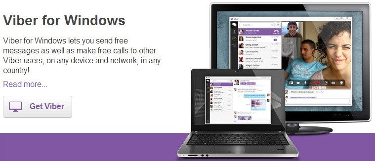 Viber   Free calls  Free text messages  photo and location sharing
