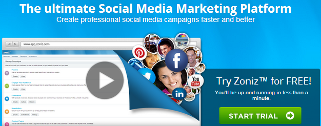 Zoniz, ZOniz App, Zoniz social Media marketing Platform, Best social media Marketing platform
