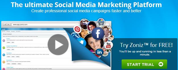 Zoniz™ Social Media Marketing Platform