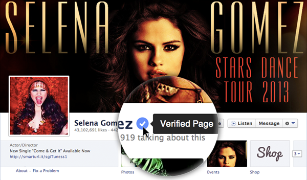 facebook page verification verification badge for facebook facebook verification badge