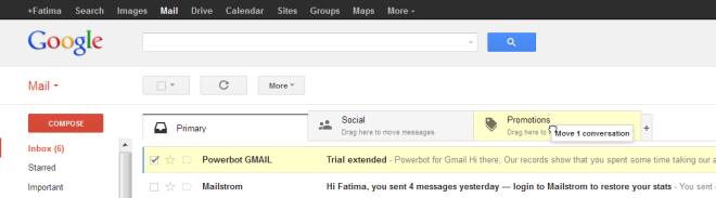 Gmail tabs, Gmail new featured tabs, New gmail tabs interface, How to enable tabs in Gmail, How to get the new Gmail interface, Gmail new buttons, Gmail updated interface, Gmail, Gmail 2013, Gmail updates, How to use new Gmail, how to enable new Gmail tabs (3)