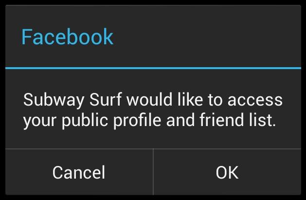 Subway srfers miami facebook error