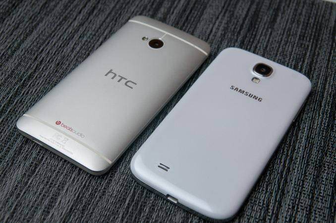 HTC One Google edition Samsung Galaxy S4 google edition