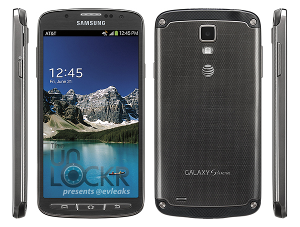 Galaxy S4 active AT&T, latest leaks of Galaxy S4 Active, Samsung Galaxy S4 Active for AT&T