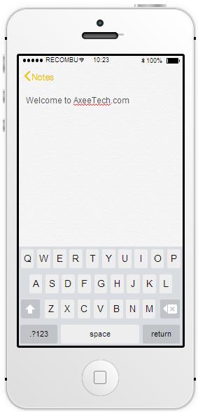 Interactive iOS 7 Demo Simulator   Recombu Mobile 4