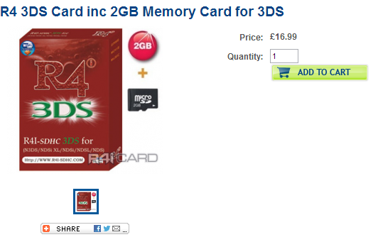 RC Cards, Cards for n3DS, N3DS cards
