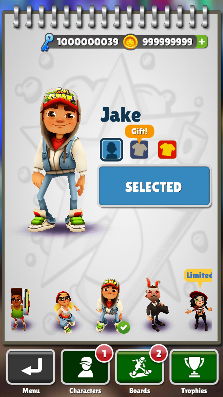 and if you want the normal subway surfer paris version than