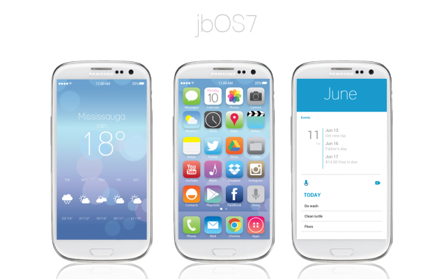 iOS 7 theme, iOS 7 Android, jbOS7, IOS7 theme for android, Android iOS 7 theme, Android Apple theme, How to iOs7 theme,
