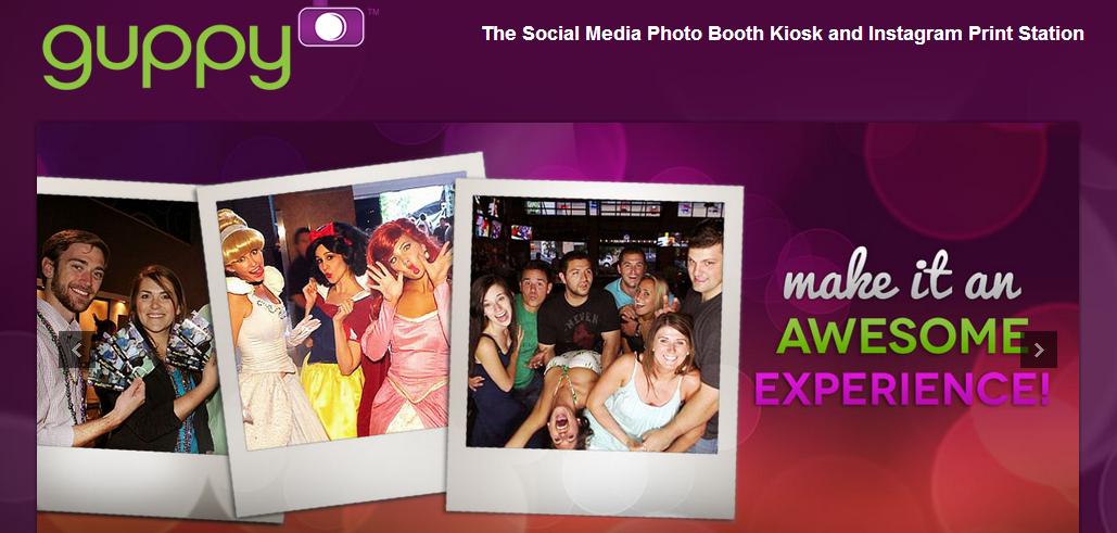 guppy   Photo Booth   Photo Kiosk   Print Instagram Photos   Experiential Marketing