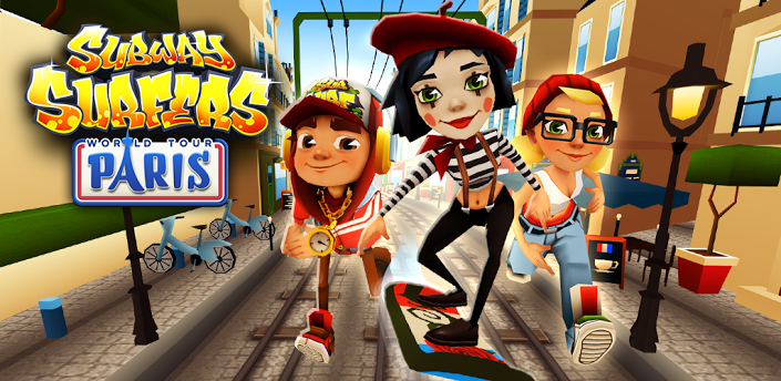 Subway Surfers PAris, Subway Surfers Paris, Subway surfers, Paris