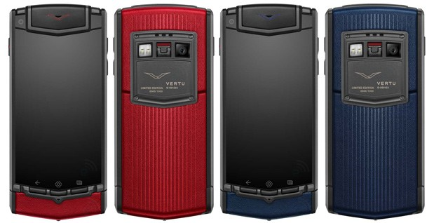 Vertu TI Vertu Vertu TI Red Vertu TI Blue Vertu TI new colors Vertu TI availability Vertu TI price Virtu Android Virtue specs