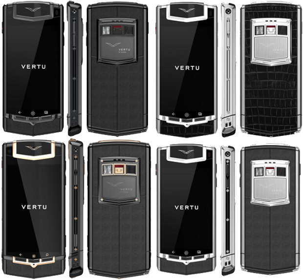 Vertu TI Vertu Vertu TI Red Vertu TI Blue Vertu TI new colors Vertu TI availability Vertu TI price Virtu Android Virtue specs 1