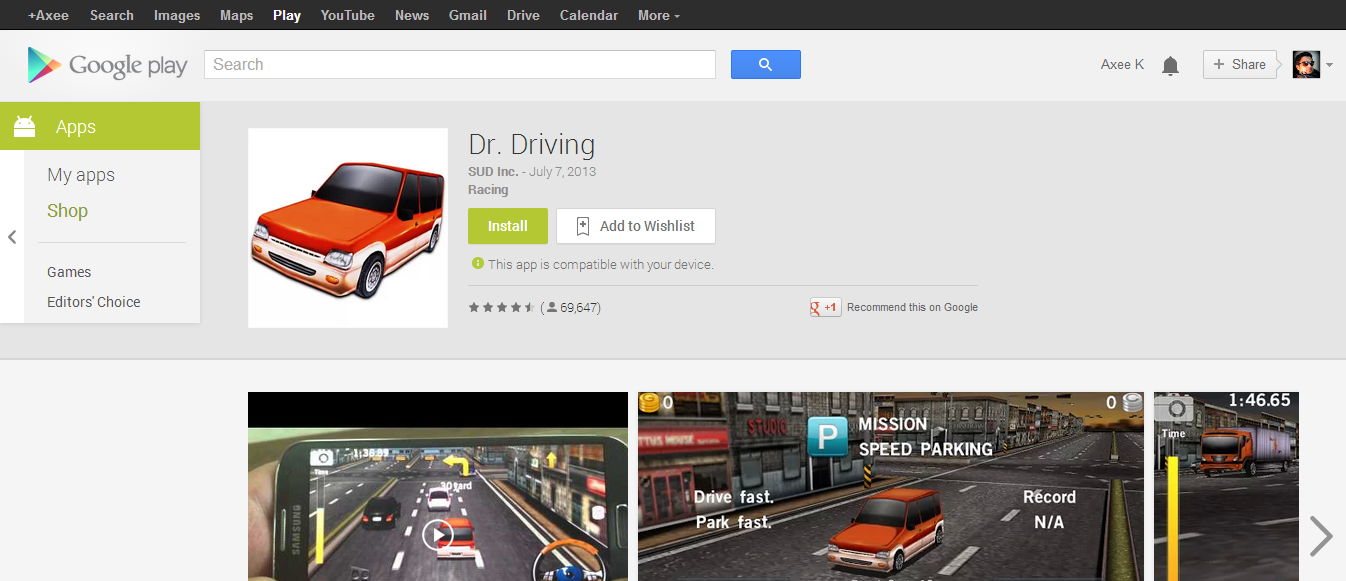 Dr. Driving   Android Apps on Google Play 1