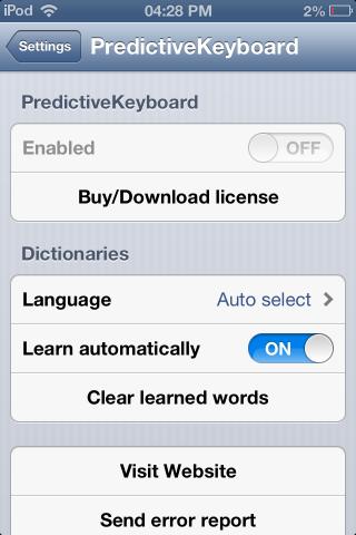 predictive keyboard Apple, predictive text keyboard for iphone, text prediction on iphone, Android keyboard for iPhone
