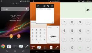 Sony Honami ui, Sony C906 software, Sony Honami User Interface