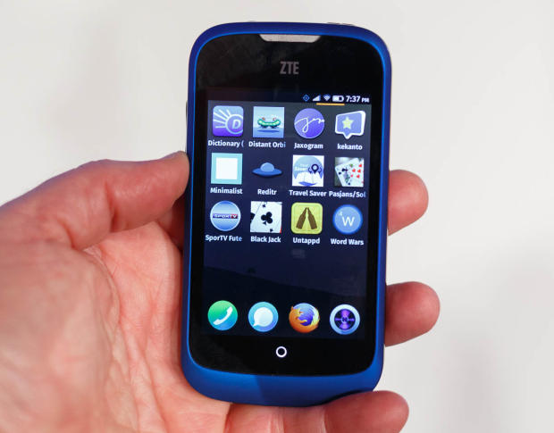 Firefox phone, Fire fox OS phone