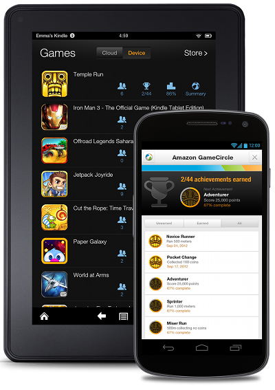 Amazon gamecirlce for google Game circle GameCirlce Google play game circle for google play Amazon games for android