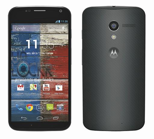 Moto X leaked Moto X Motorola new Moto X specs Moto X design
