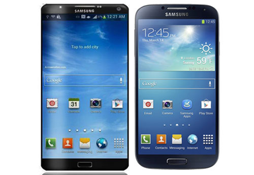 Galaxy Note new, galaxy note 3 concept