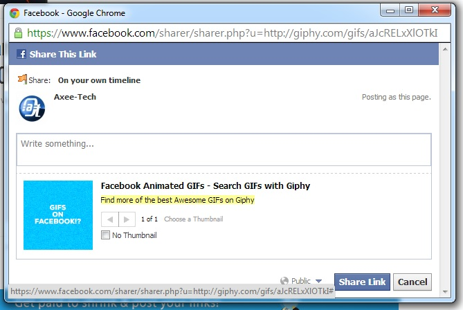 Facebook GIF, how to post animation pictures on Facebook, Facebook Gif animation, Post GIF image on Facebook, GIF animation on facebook. (2)