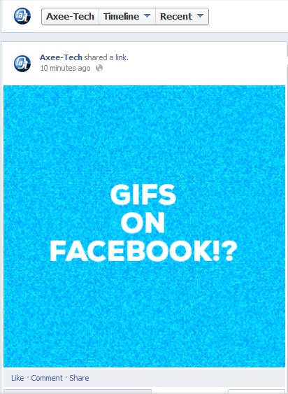 Facebook GIF, how to post animation pictures on Facebook, Facebook Gif animation, Post GIF image on Facebook, GIF animation on facebook. (1)