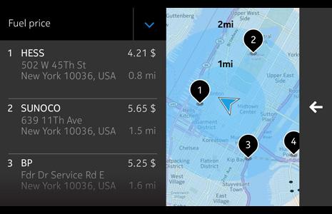 HERE Auto Navigation System