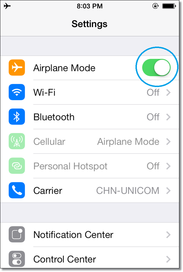 Fix WiFi issue in iPhone 5S and 5C
