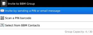 BBM Contact Groups