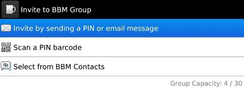Add Groups to BBM