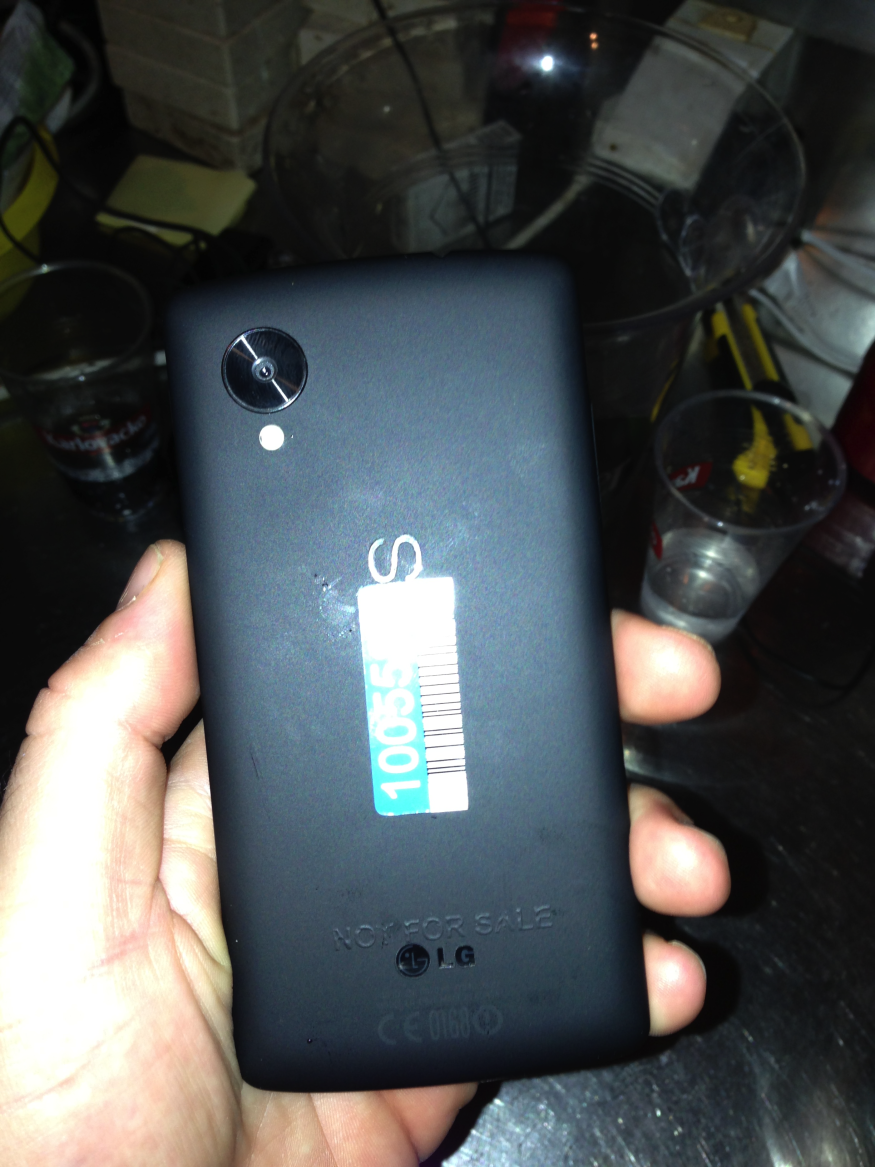 Google Nexus 5 leaked