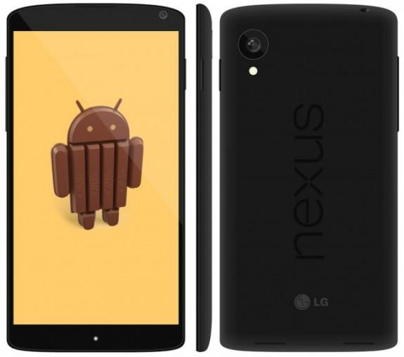 Nexus 5 specs leaked through log