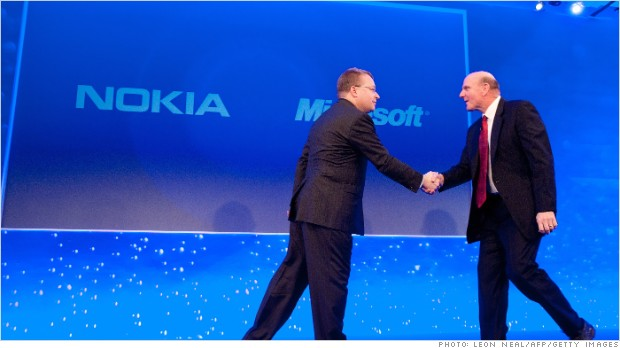 Microsoft aquiring Nokia for $7.2 Billion